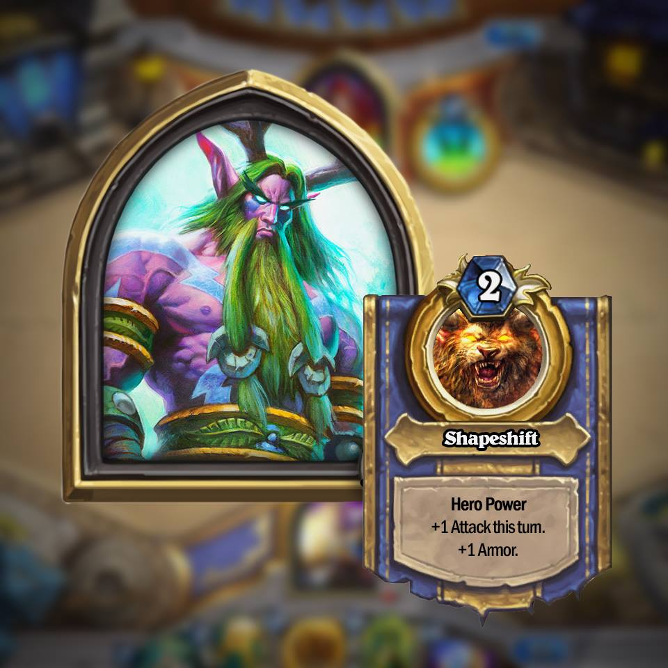 Hearthstone Golden Hero Screenshots And Video Released By Blizzard #30793