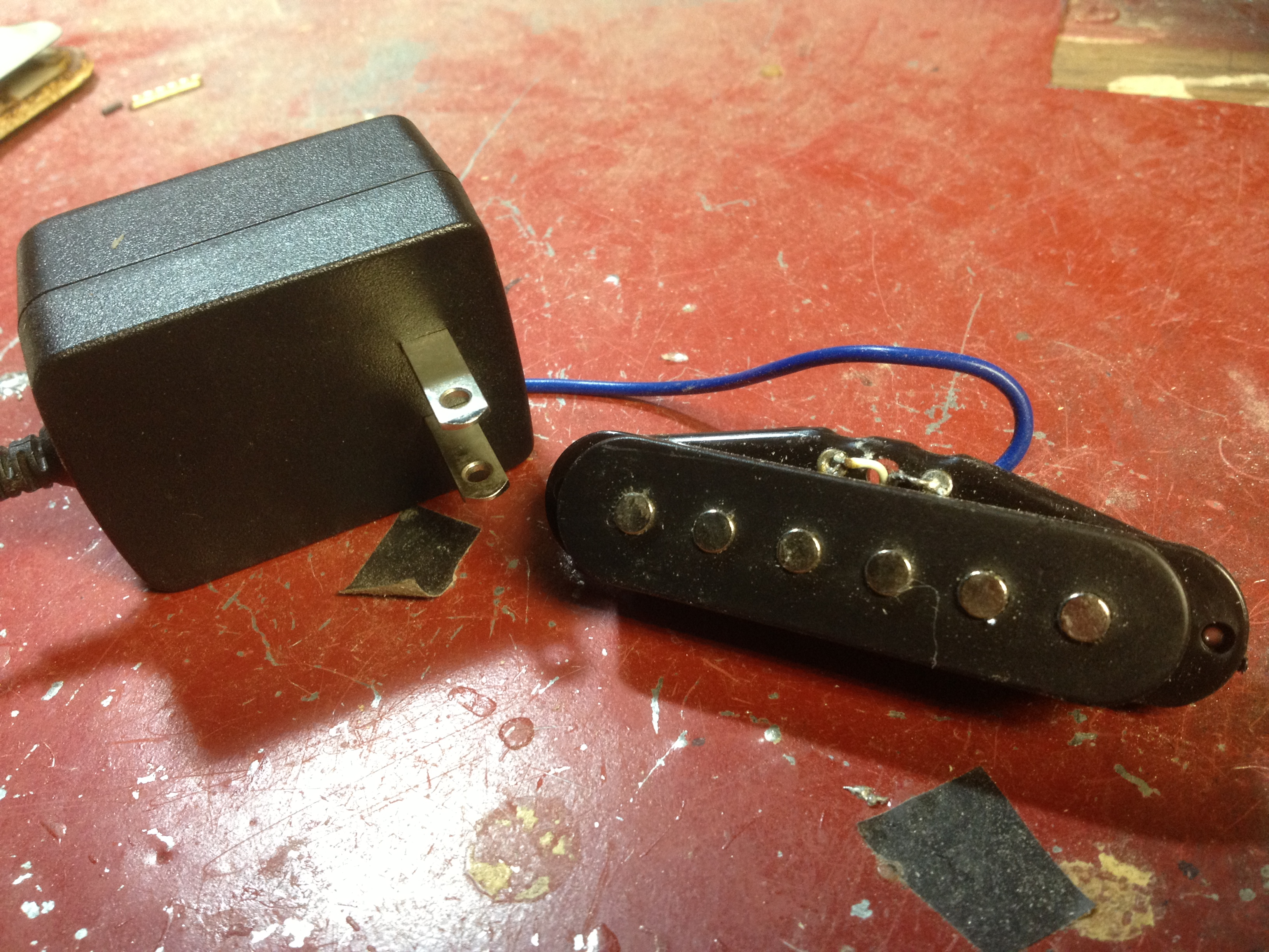 Cigar Box Build A Guitar Pickup In Under Five Minutes For Less Than Making Simple Diy Mini Amplifier Strat And Other 2 Guitarworld