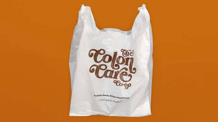 Embarrassing plastic bag designs aim to cut plastic use | Creative Bloq