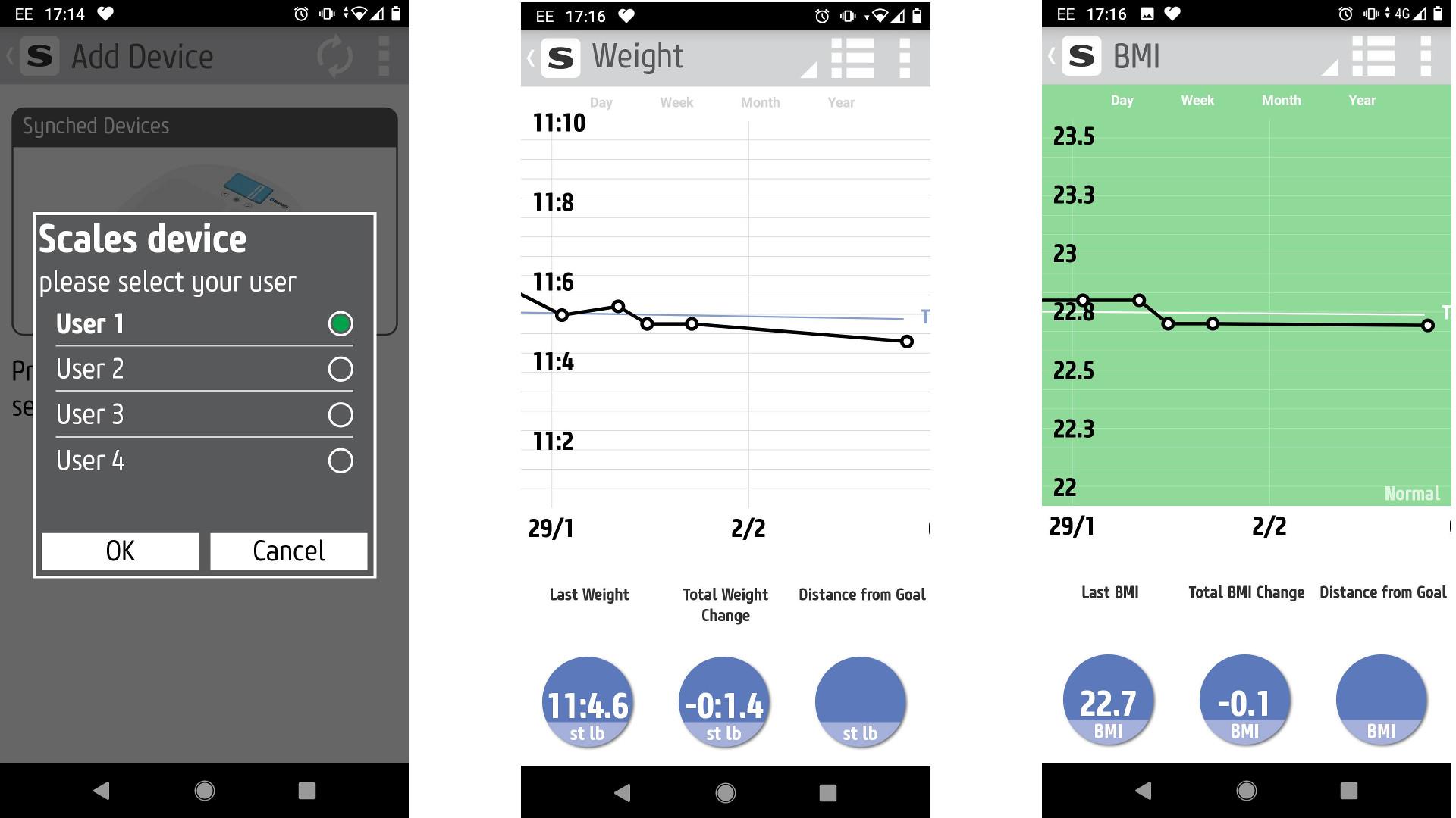 Salter Mibody Smart Scale app