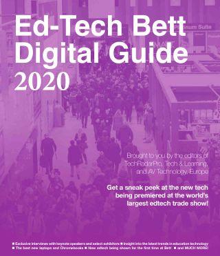 Cover of Ed-Tech Bett Digital Guide