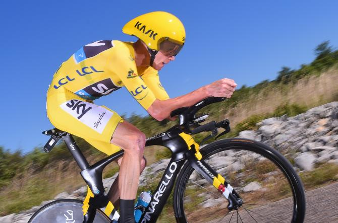 Chris Froome (Team Sky) will be looking to extend his overall lead in the stage 17 time trial