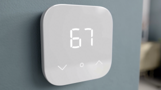 Amazon's Smart Thermostat, unveiled at the Amazon event