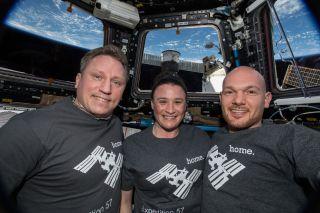 astronauts, iss
