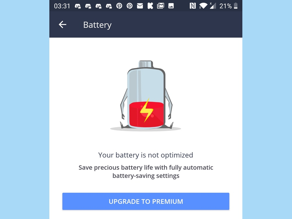 best battery apps: avast cleanup and boot