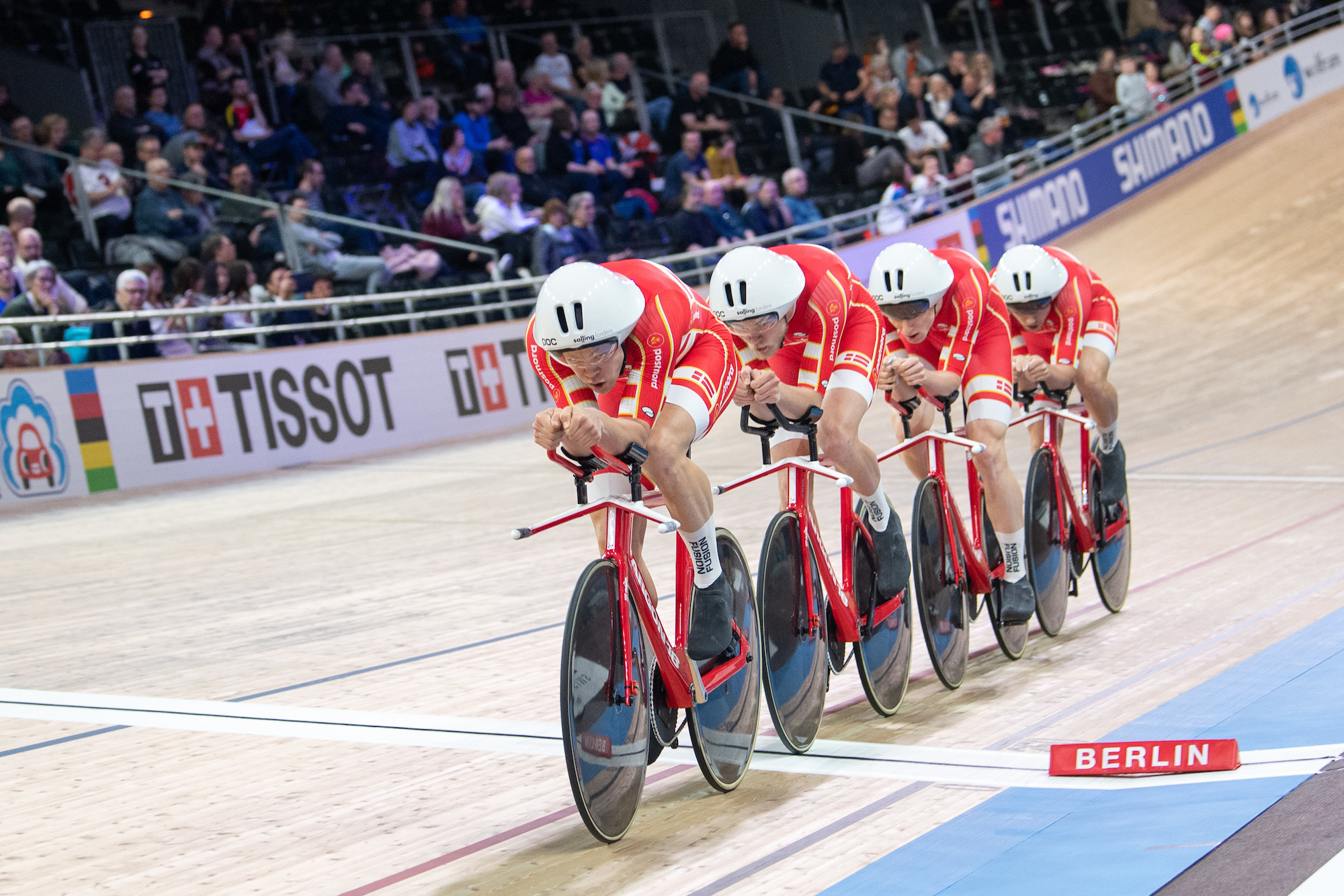 Denmark set new men's team pursuit world record in qualifying as GB struggle at Track World Championships 2020 - Cycling Weekly