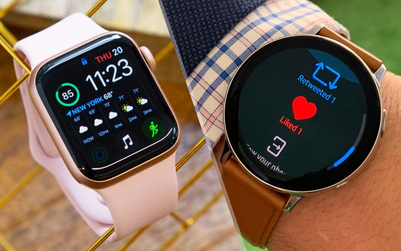 Samsung Galaxy Watch Active 2 Vs Apple Watch Series 4 Which Watch Should You Buy Tom S Guide