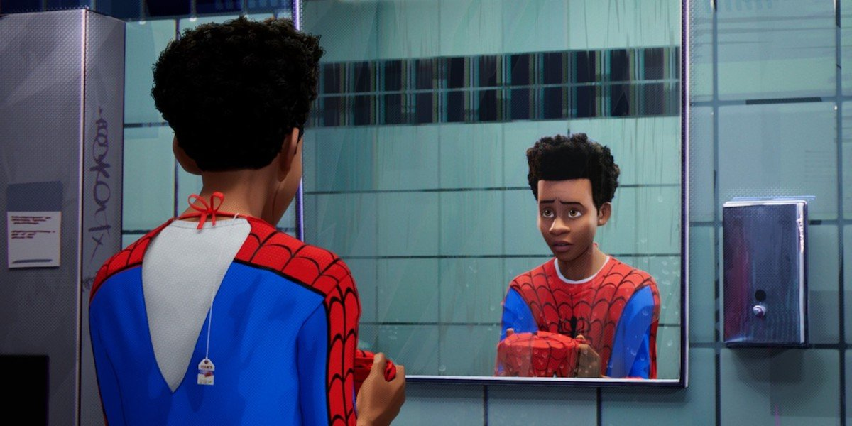 Miles Morales in Spider-Man: Into the Spider-Verse
