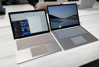 surface laptop 3 13 inch and 15 inch