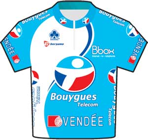 Bbox Bouygues Telecom jersey Tour de France 2010