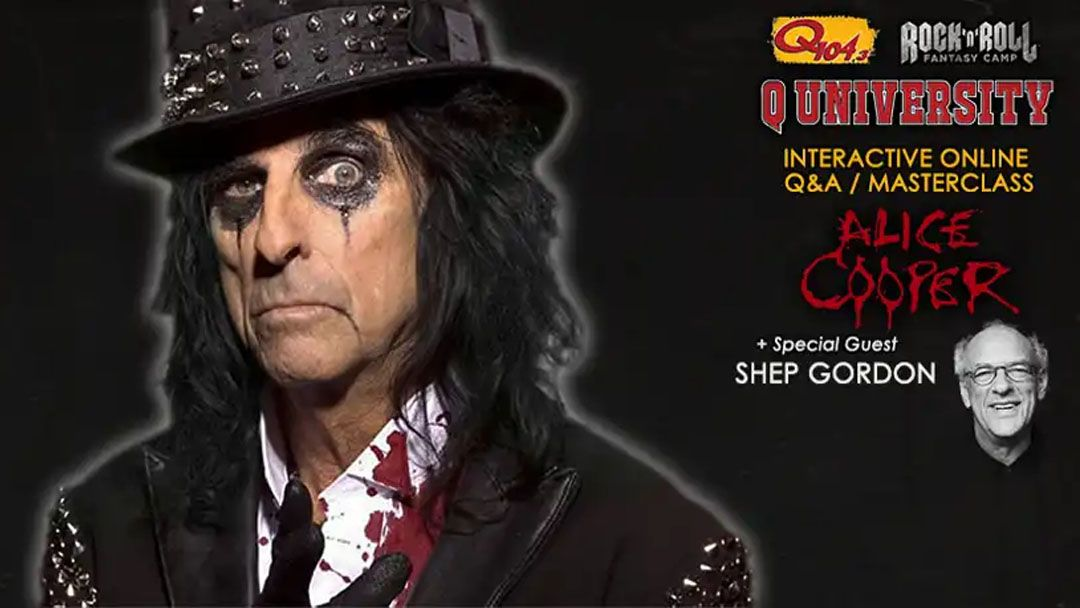 Learn from Alice Cooper, Roger Daltrey and more as Rock'N'Roll Fantasy Camp goes online