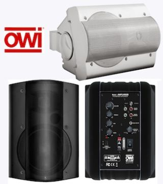 OWI Introduces Combo Power Supply and Self-Amplified Speaker System