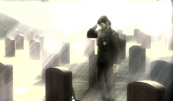 Metal Gear Solid 3 debriefing ending
