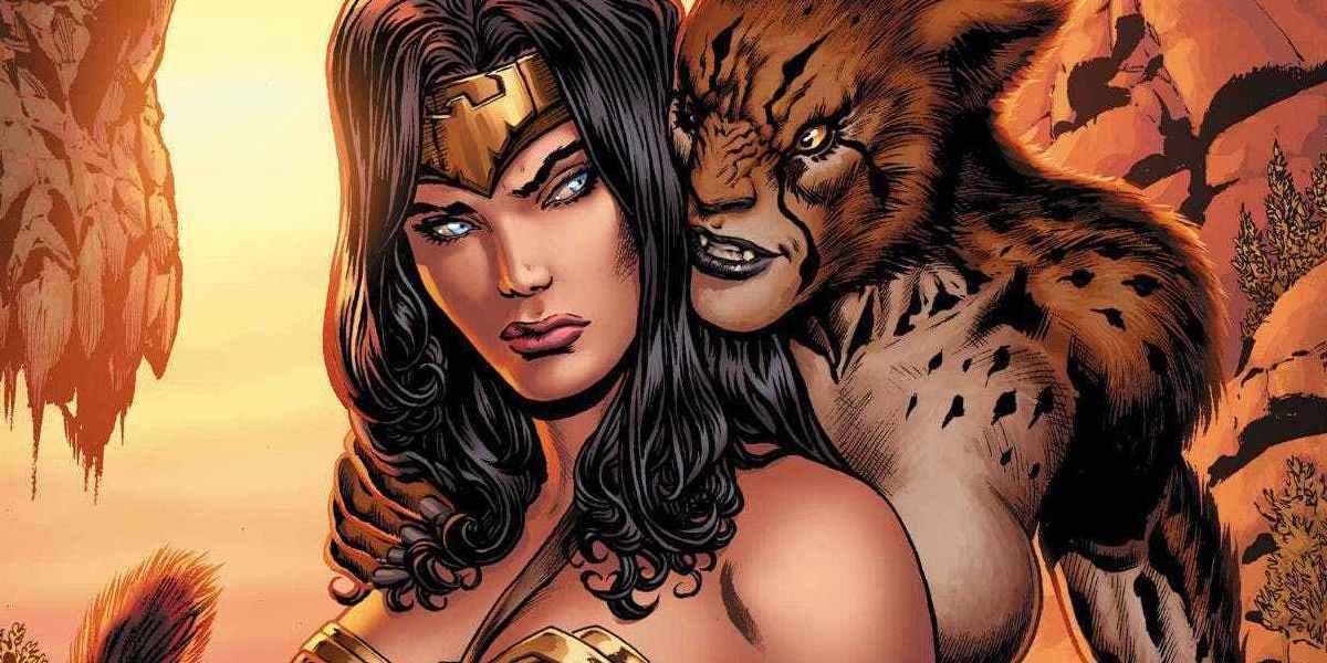 Wonder Woman and Cheetah