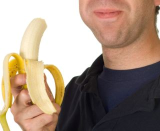 Soft, sticky foods such as bananas trigger many people's gag reflexes.