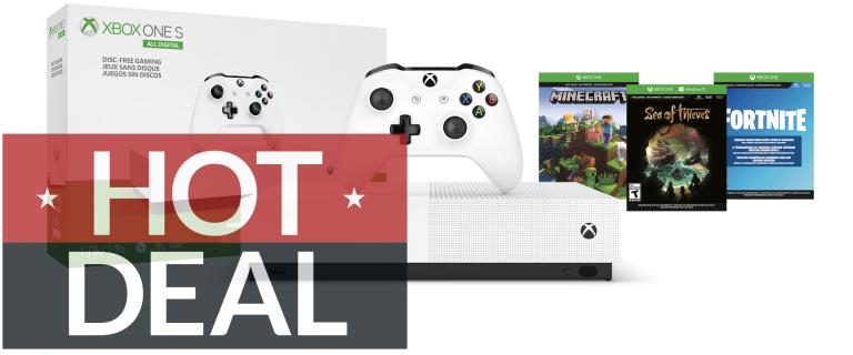 Microsoft Xbox One S All Digital Edition Walmart Black Friday deals