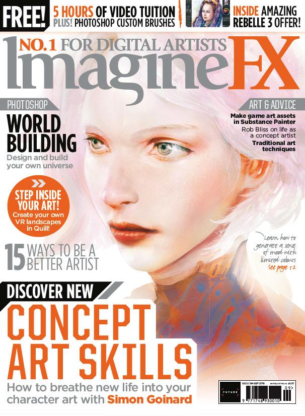 Discover New Concept Art Skills In Imaginefx 164 Creative Bloq