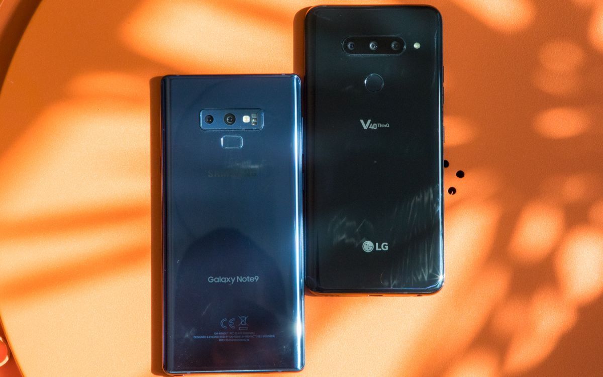 LG V40 ThinQ vs  Galaxy Note 9: It's Not Even Close | Tom's Guide