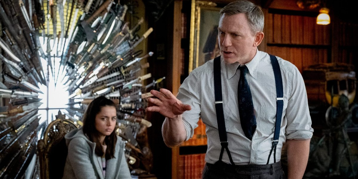 Knives Out Director Rian Johnson Broke A Steadicam While Filming, And It's In The Movie