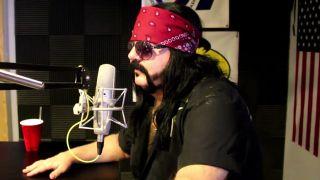 Vinnie Paul at the KBAT studios