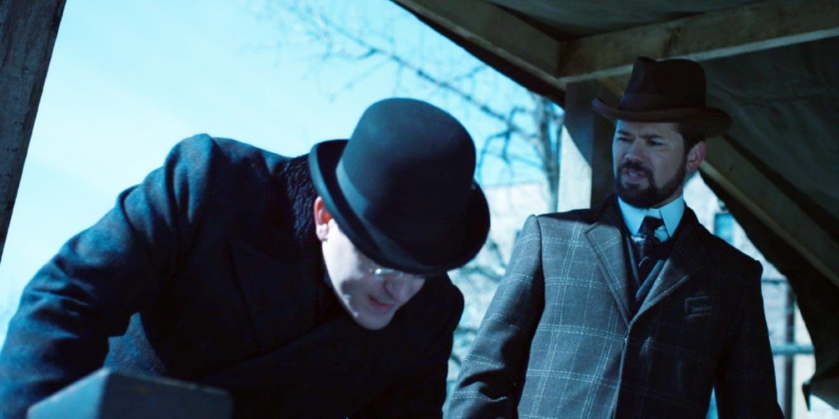 Andrew Rannells in The Knick