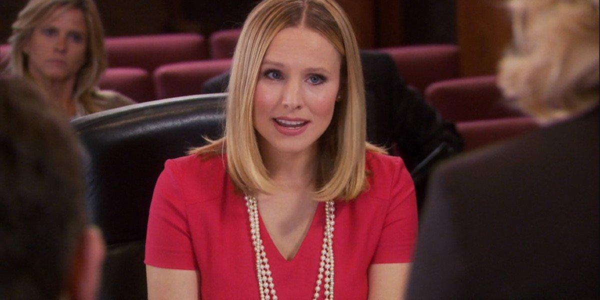 Kristen Bell in Parks and Recs