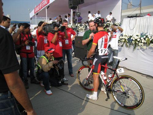 Robbie McEwen, Tour de Mumbai 2011