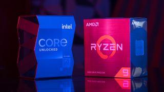 Two boxed processor duel: Intel Core i9 vs AMD Ryzen 9, or Rocket Lake vs Zen 3
