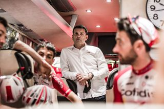 Cedric Vasseur is the general manager of the men's and women's Cofidis cycling teams