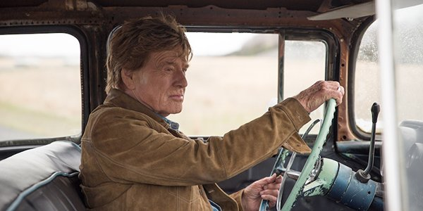 Robert Redford's Forrest Tucker driving in The Old Man & the Gun