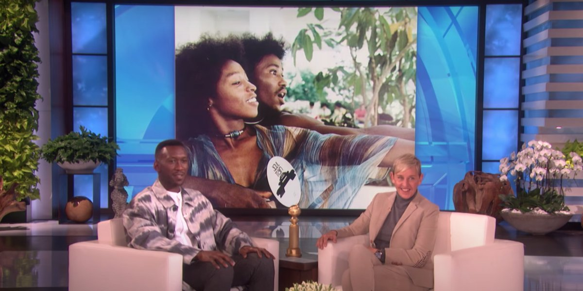 Mahershala Ali recounting his father's Soul Train appearance on The Ellen DeGeneres Show