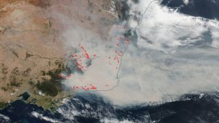 Wildfires devastated southeastern Australia in the final months of 2019 and in January 2020. See photos of those wildfires from space as NASA tracks them with satellites.