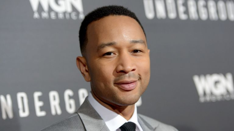 """LOS ANGELES, CA - MARCH 02: Executive producer John Legend attends WGN America's """"Underground"""" World Premiere on March 2, 2016 in Los Angeles, California. (Photo by Charley Gallay/Getty Images for WGN America)"""