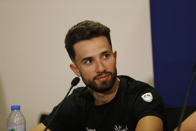 5025010a3c6a 5 February 2018 5th Dubai Tour Press Conference BOUHANNI Nacer (FRA)  Cofidis Photo : Yuzuru SUNADA Credit: Yuzuru Sunada