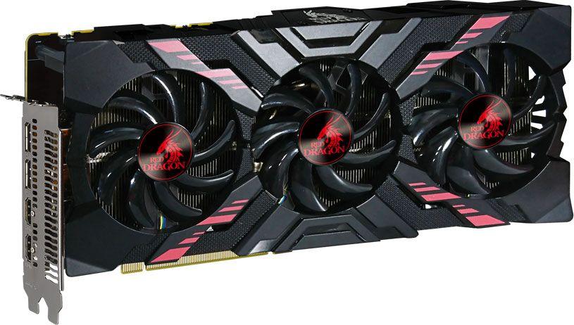 PowerColor's custom cooled Red Dragon Radeon RX Vega 56