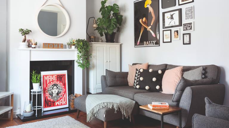 Jamison grey living room