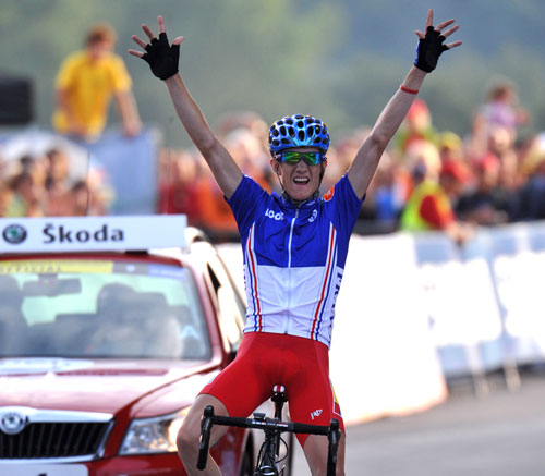 Romain Sicard, World Championships 2009, under 23 road race