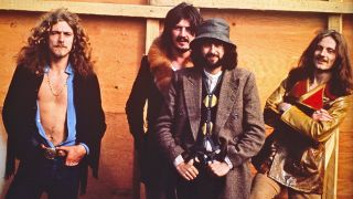 Ready to knock 'em dead. Backstage at the Bath Festival, June 28, 1970