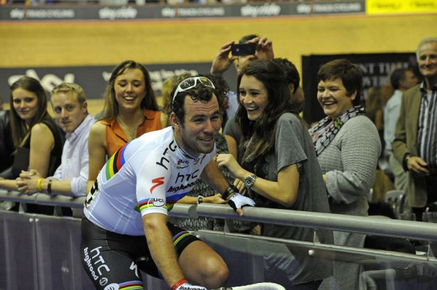 Mark Cavendish and Peta Todd, Revolution 34, November 19 2011