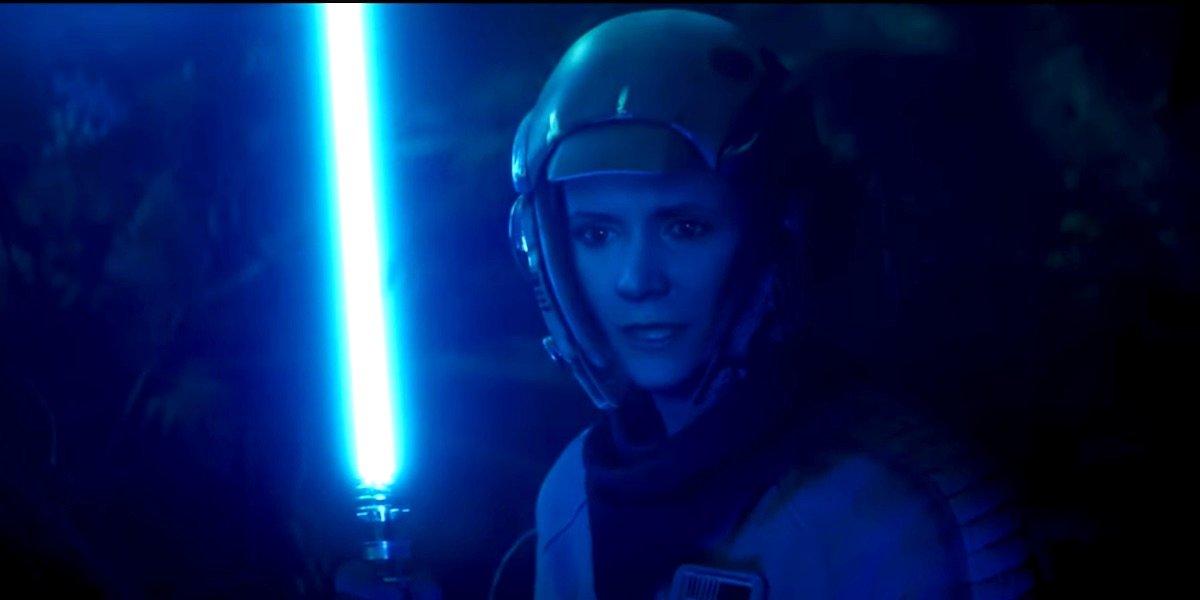 Star Wars: The Rise Of Skywalker Art Reveals Details About Leia's Lightsaber