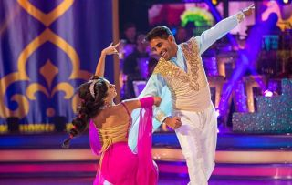 """Dr Ranj Singh performed a Quickstep to """"Prince Ali"""" from Aladdin"""