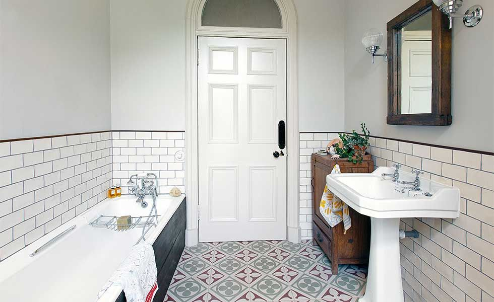 bathroom tiling ideas uk choosing the right size tiles for a small bathroom real 16900