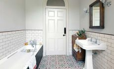 How to choose quarry and terracotta floor tiles real homes for Bathroom designs 7x6