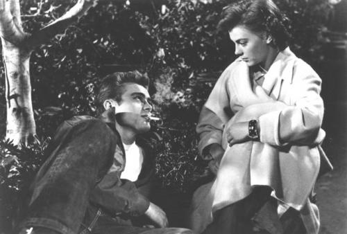 Rebel Without a Cause, James Dean,Natalie Wood
