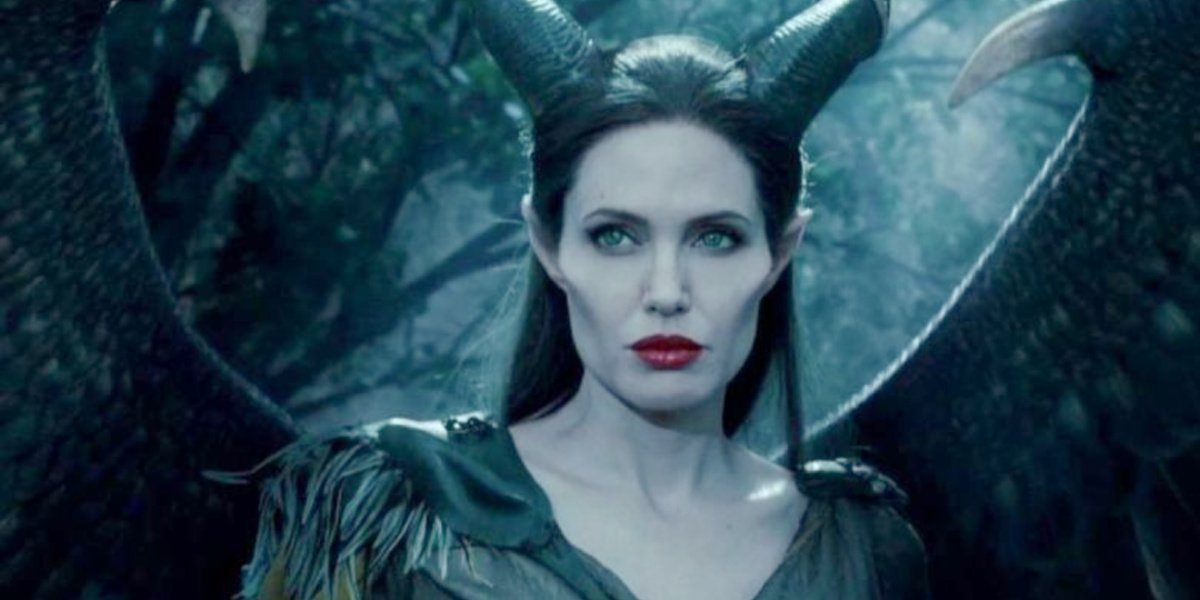 Angelina Jolie as Maleficent in Maleficent 2: Mistress of Evil.
