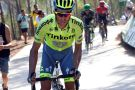 Alberto Contador on stage 17 of the 2016 Vuelta a Espana