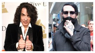 Paul Stanley and Marilyn Manson