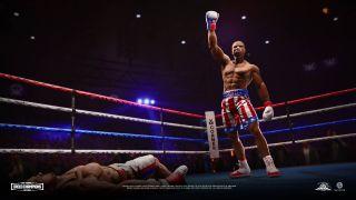Big Rumble Boxing: Creed Champions Adonis Creed victory