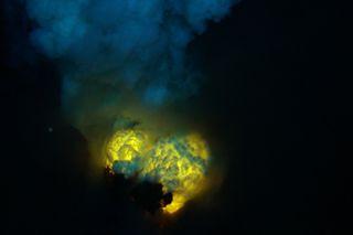 Double Magma Bubbles, Hades Vent