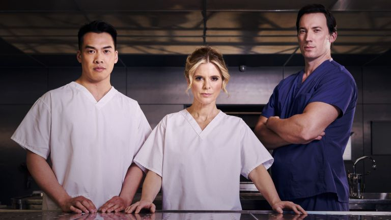 Silent Witness 2021 cast including Emilia Fox, Jason Wong and David Caves